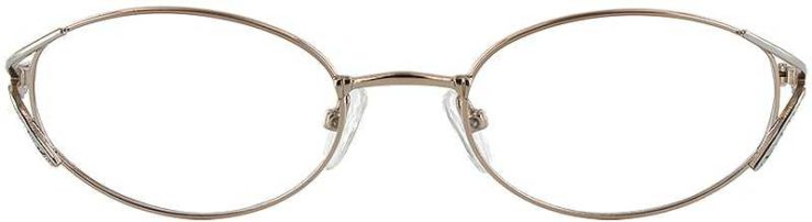 Prescription Glasses Model LILAC-GOLD-SILVER-FRONT