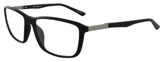 Prescription Glasses Model MARCUS-BLACK-45