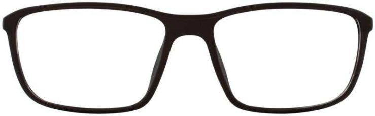 Prescription Glasses Model MARCUS-BROWN-FRONT