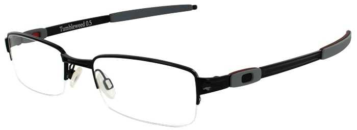 Oakley Prescription Glasses Model TUMBLEWEED 0.5-POLISHED BLACK-45