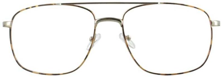 Prescription Glasses Model OLIVE-DEMIAMBER-FRONT