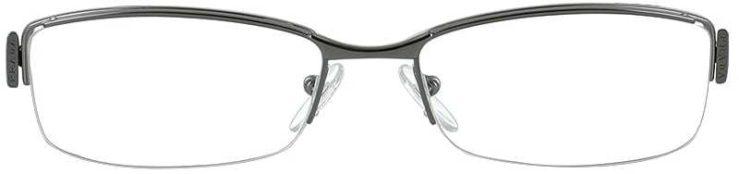 Prada Prescription Glasses Model VPR-53N-DAK-101-FRONT