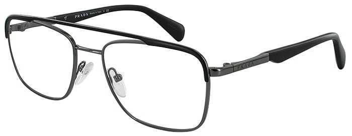 Prada Prescription Glasses Model VPR58Q-1BO-101-45