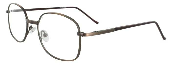 Prescription Glasses Model PT36-ANTBROWN-45