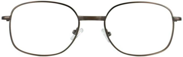 Prescription Glasses Model PT36-ANTBROWN-FRONT