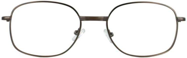 Prescription Glasses Model PT36-ANTBROWN-FRONT