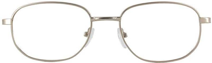 Prescription Glasses Model PT48-GOLD-FRONT