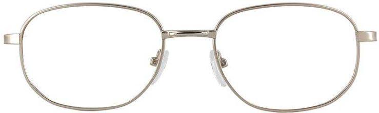 Prescription Glasses Model PT48-GOLD-FRONT
