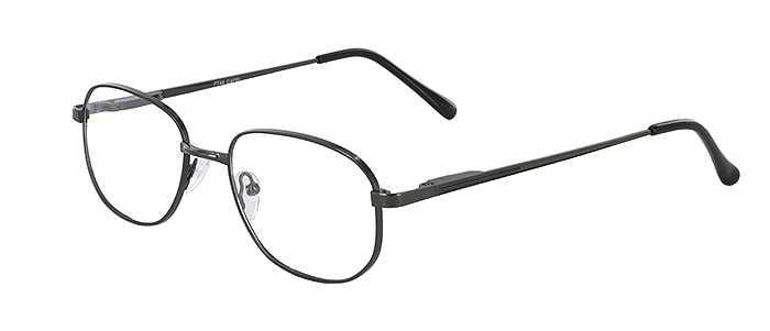 Prescription Glasses Model PT48-GUNMETAL-45
