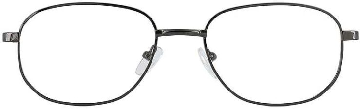 Prescription Glasses Model PT48-GUNMETAL-FRONT