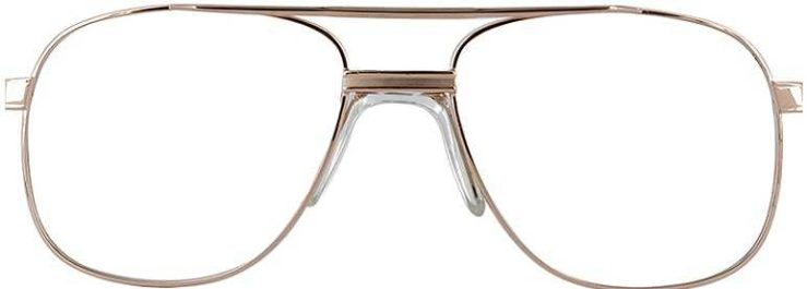 Prescription Glasses Model PT55-GOLD-FRONT
