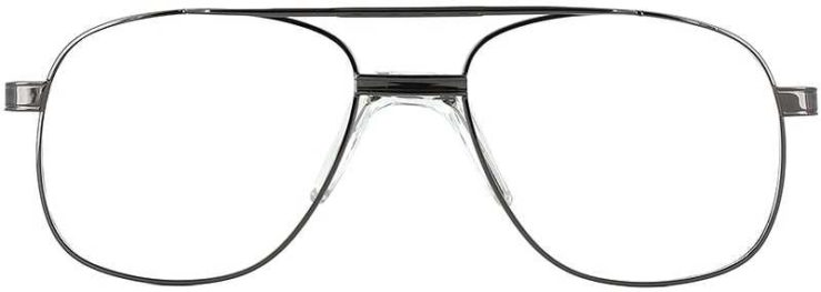 Prescription Glasses Model PT55-GUNMETAL-FRONT