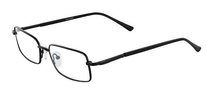 Prescription Glasses Model PT63-BLACK-45