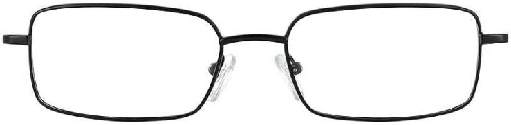 Prescription Glasses Model PT63-BLACK-FRONT