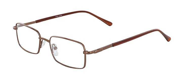 Prescription Glasses Model PT63-COFFEE-45