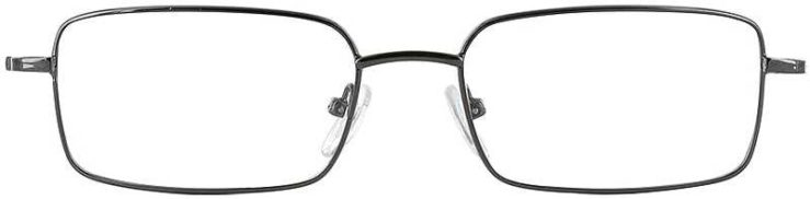 Prescription Glasses Model PT63-GUNMETAL-FRONT