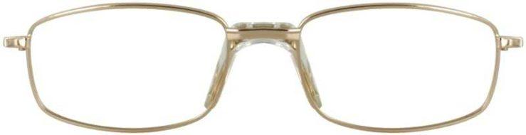 Prescription Glasses Model PT68-GOLD-FRONT