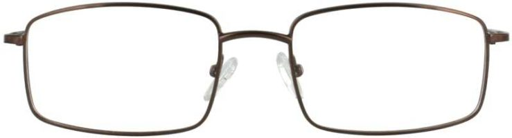 Prescription Glasses Model PT69-BROWN-FRONT