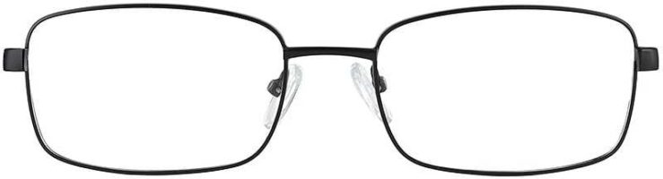 Prescription Glasses Model PT71-BLACK-FRONT