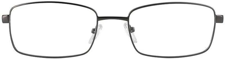 Prescription Glasses Model PT71-GUNMETAL-FRONT