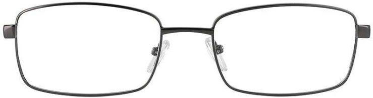 Prescription Glasses Model PT71-GUNMETAL-FRONT