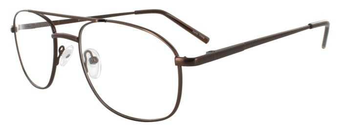 Prescription Glasses Model PT75-BROWN-45