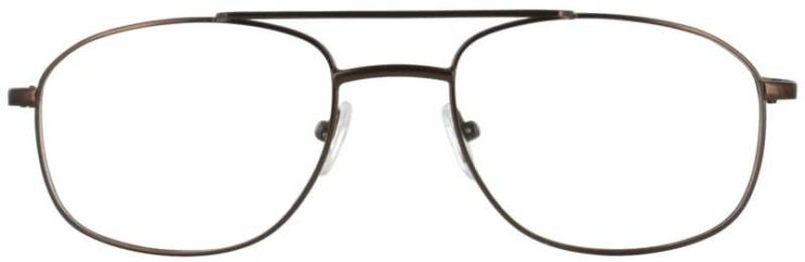 Prescription Glasses Model PT75-BROWN-FRONT