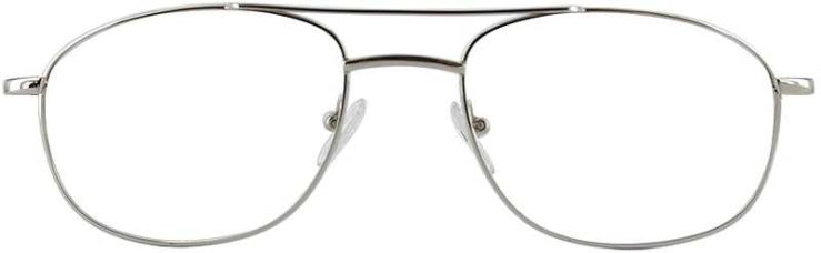 Prescription Glasses Model PT75-SILVER-FRONT