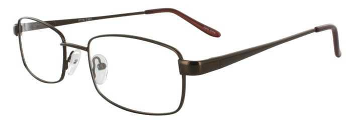Prescription Glasses Model PT78-BROWN-45