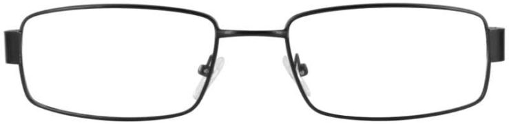 Prescription Glasses Model PT85-BLACK-FRONT