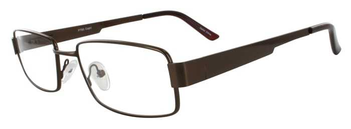 Prescription Glasses Model PT85-BROWN-45