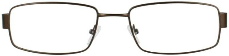Prescription Glasses Model PT85-BROWN-FRONT