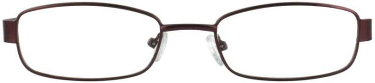 Prescription Glasses Model PT86-BURGUNGY-FRONT