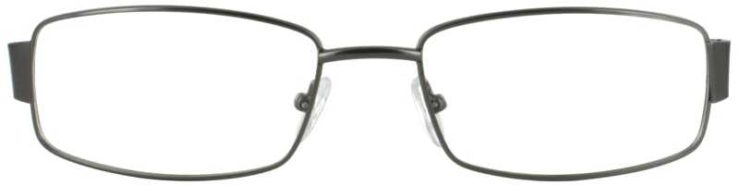 Prescription Glasses Model PT88-GUNMETAL-FRONT