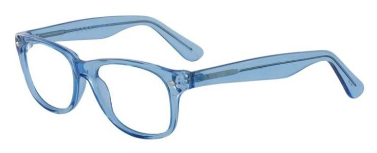 Prescription Glasses Model RAD09-BLUE-45