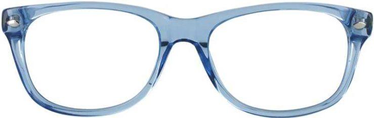 Prescription Glasses Model RAD09-BLUE-FRONT