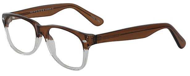 Prescription Glasses Model RAD09-BROWN-45
