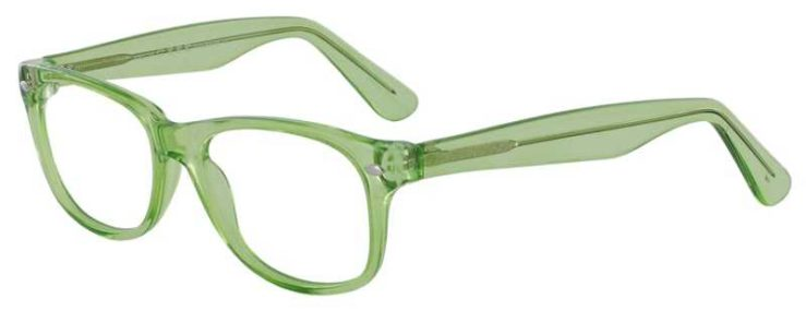 Prescription Glasses Model RAD09-LIME-45