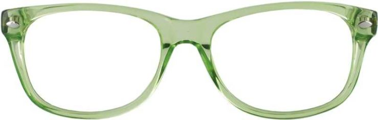 Prescription Glasses Model RAD09-LIME-FRONT