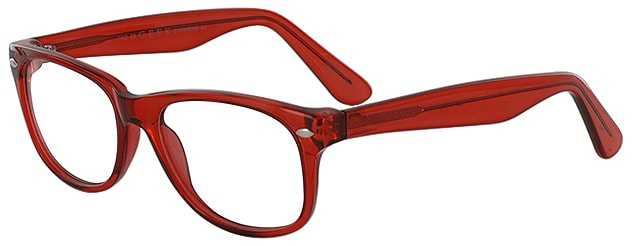 Prescription Glasses Model RAD09-RED-45