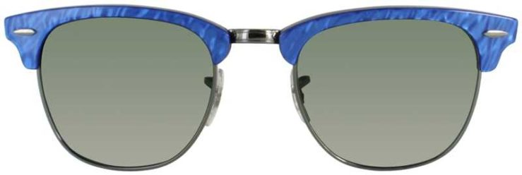 Ray-Ban Prescription Glasses Model RB3016-CLUBMASTER-984-FRONT