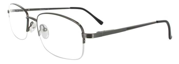 Prescription Glasses Model RENAISSANCE-GUNMETAL-45