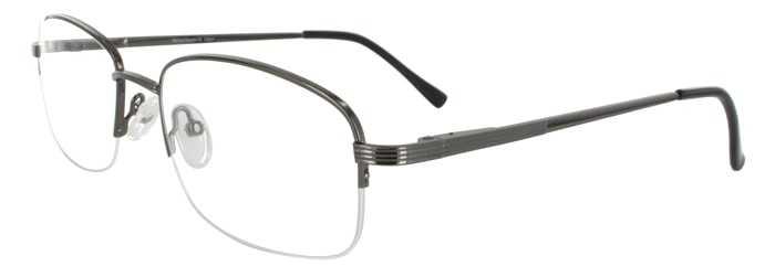 Prescription Glasses Model RENAISSANCE-GUNMETAL-45