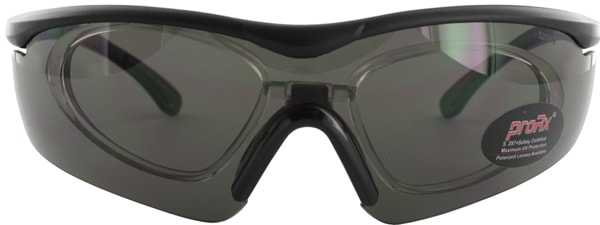 Prescription Glasses Model RIDE91195-BLACK-BLACK-FRONT