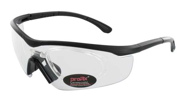 Prescription Glasses Model RIDE91195-BLACK-CLEAR-45