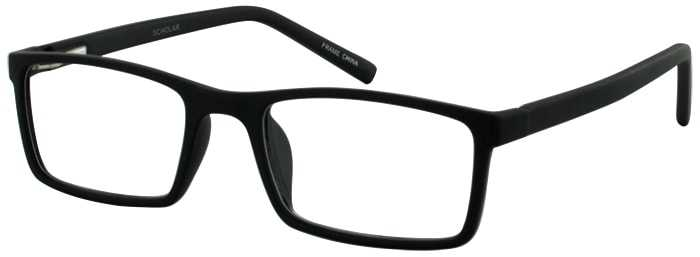 Prescription Glasses Model SCHOLAR-BLACK-45