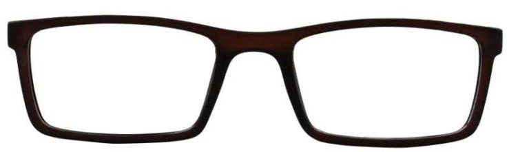 Prescription Glasses Model SCHOLAR-BROWN-FRONT