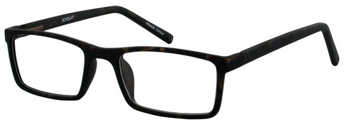 Prescription Glasses Model SCHOLAR-TORTOISE-45