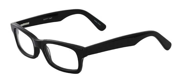 Prescription Glasses Model SCOTT-BLACK-45
