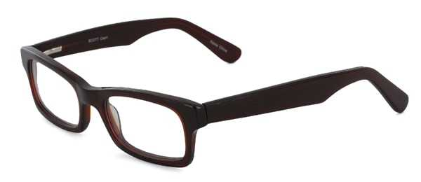 Prescription Glasses Model SCOTT-BROWN-45